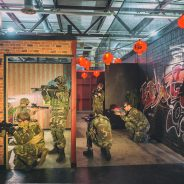 indoor Airsoft en Lasertag arena Downtown