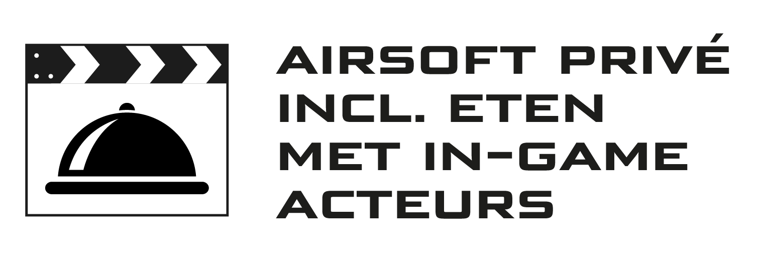 Airsoft prive incl. eten met in-game acteurs