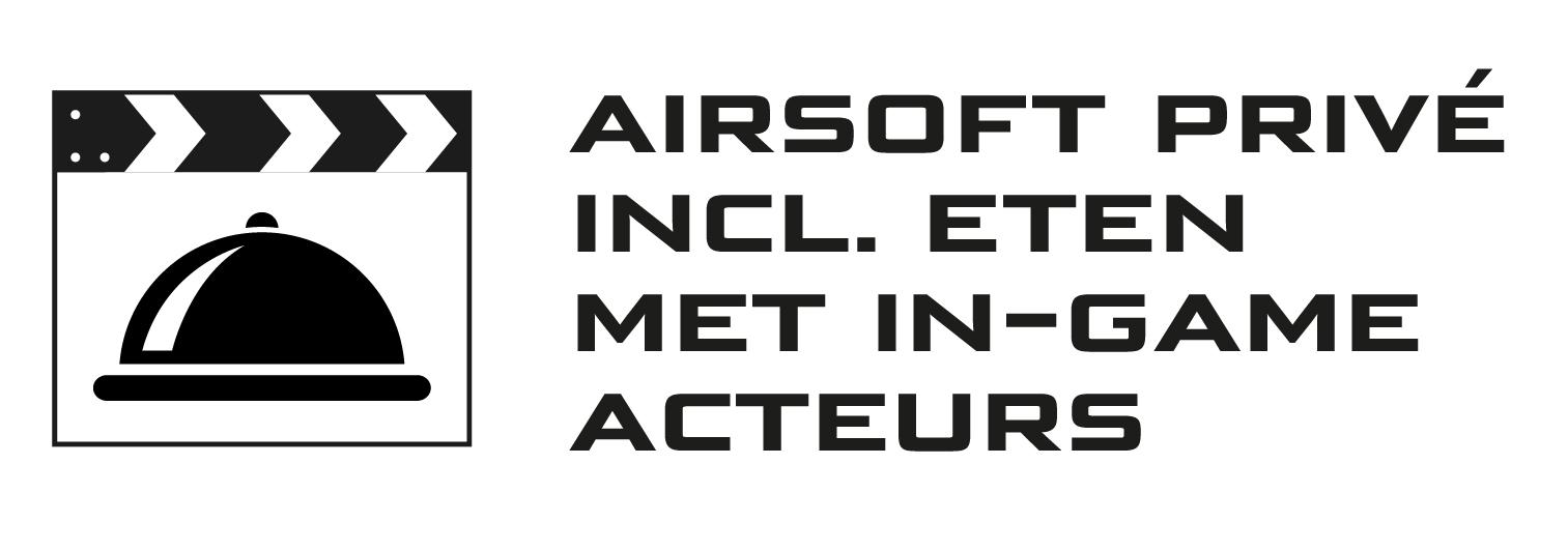 Airsoft prive incl. eten met in-game acteurs