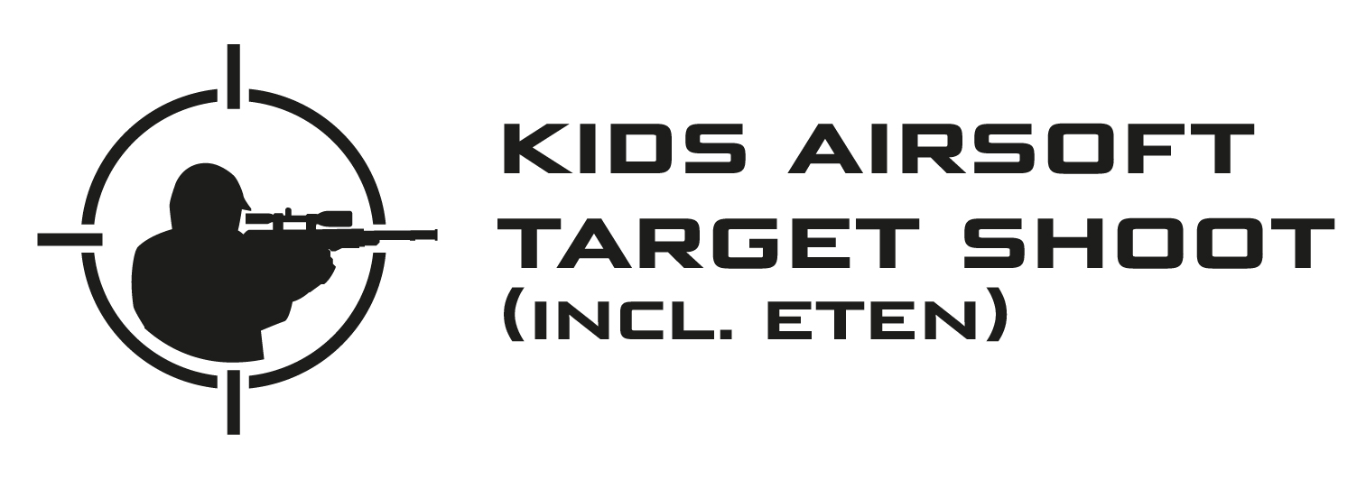 Kids Airsoft target shooting